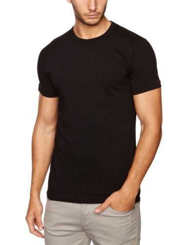 French Connection Pokit Fc  Men's T-Shirt Black Small