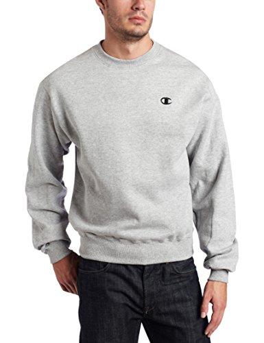 Champion Men's Pullover Eco Fleece Sweatshirt, Oxford Gray, Medium (Champion Sweatshirt compare prices)