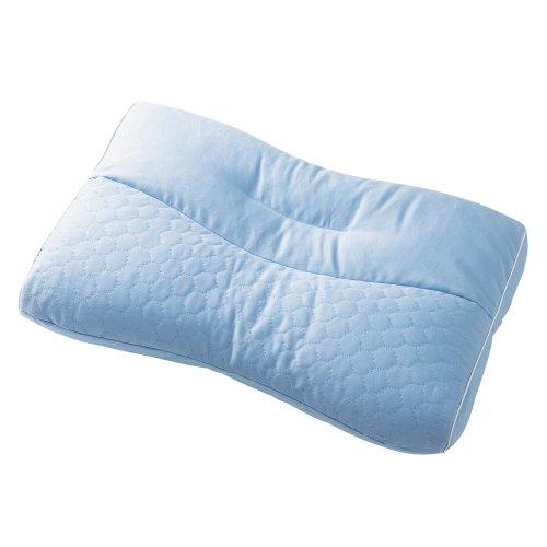 東京西川 枕 もっと肩楽寝 医師がすすめる健康枕 男性パッケージ ブルー