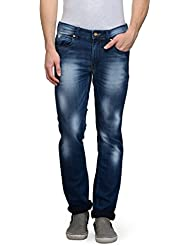 Canary London Blue Men's Slim Fit Jeans - B01HCTCVQ2