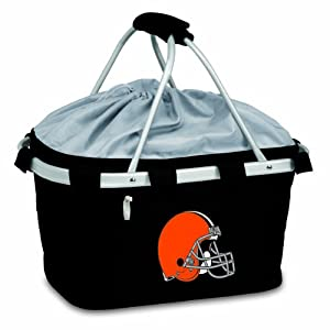 NFL Cleveland Browns Metro Insulated Basket by Picnic Time