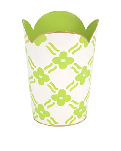 Jayes Pacifico Tulip Wastebasket, Green
