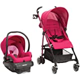 Maxi Cosi Kaia and Mico NXT Travel System, Sweet Cerise