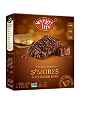 Enjoy Life 100% Decadence Soft Baked 1.2 Ounce Bars, S\'mores, 5 Count (Pack of 6)