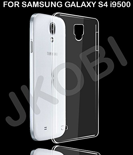 Exclusive Soft Silicone TPU Jelly Transparent Crystal Clear Case Soft Back Case Cover For Samsung Galaxy S4 i9500  available at amazon for Rs.123