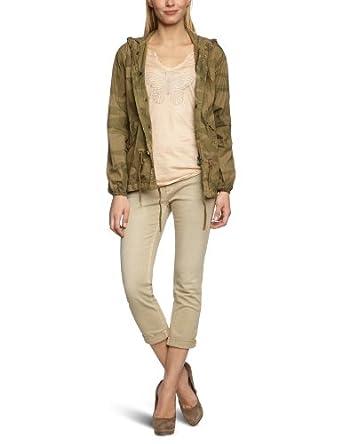 Mason's Damen Jacke 4GB4100 MB607S3, Gr. 34 (IT: 40),  Beige (camouflage)