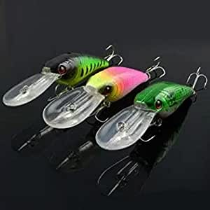 Artificial fishing lures baits crankbait bass for Amazon fishing spinners