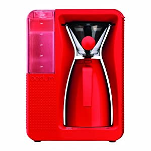 BODUM 11001-294US Bistro B. Over Automatic Pour-Over Electric Coffeemaker, 1.2-Liter