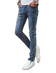 Demon&Hunter YOUTH Series Men's Skinny Slim Jeans DH8028(32)