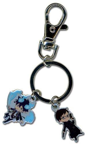 Blue Exorcist Rin and Yukio Key Chain