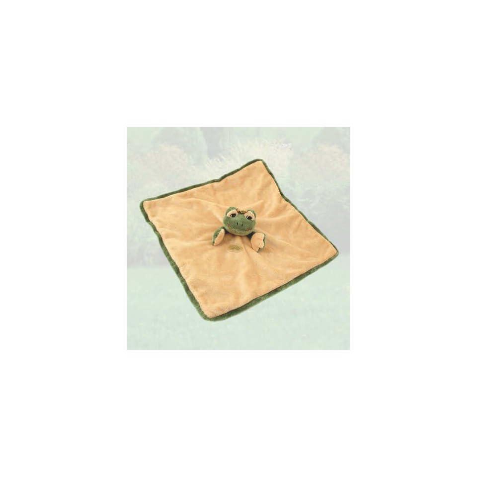 Bukowski Soft Plush Prince Charles Baby Frog Blanket Stuffed Animal Toy 10 X 10