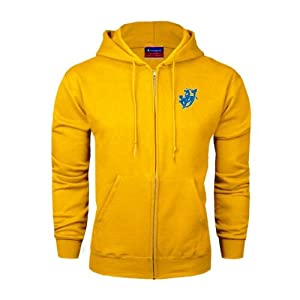 Southern Arkansas Champion Gold Fleece Full Zip Hood