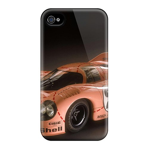 New Style Anne Marie Harrison Hard Case Cover For Iphone 4/4S- Porsche 917 Greatest Racing Car In History front-975787