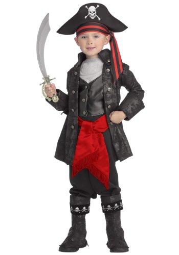 Little Boys' Captain Black Pirate Costume