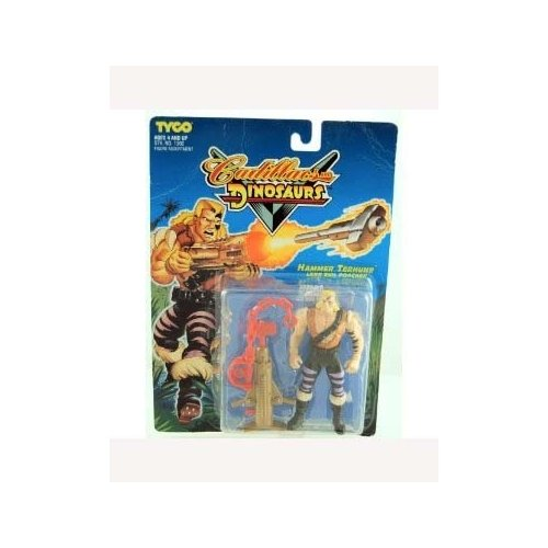 Cadillacs and Dinosaurs Series 1 Hammer Terhune - Lead Evil Poacher Action Figure - 1