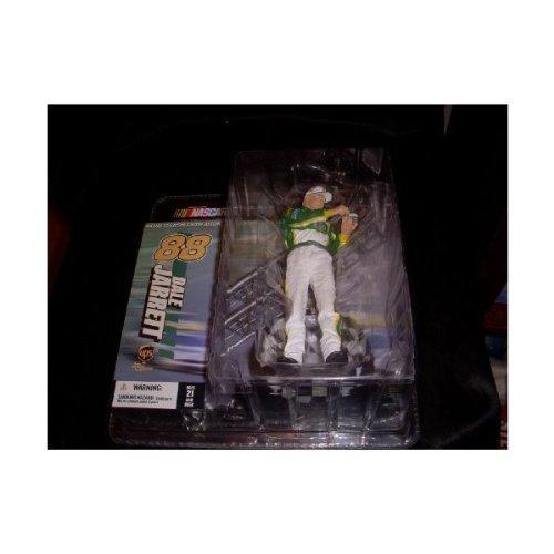 Dale Jarrett #88 UPS Arnold Palmer Tribute Green White Uniform McFarlane NASC... - 1