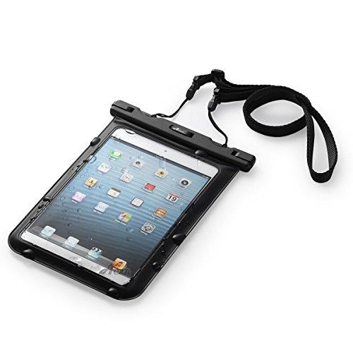iPad mini,8インチ以下タブレット端末対応!防塵防水ケースJIS IPX8規格合格信頼の防水機能
