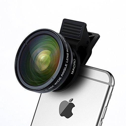 cell-phone-camera-lens-turata-2-in-1-professional-hd-camera-lens-kit-clip-on-fisheye-macro-lens-wide
