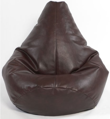 x l highback gaming beanbag faux leather red bean bag chair ebay. Black Bedroom Furniture Sets. Home Design Ideas