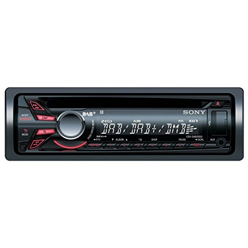 CDX-DAB500A Autoradio (DAB/DAB+, CD-Tuner, AUX-Eingang, USB) mit Apple iPod Control/Digital Antenne