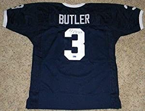 Deon Butler Autographed Jersey - Psu Penn State Nittany Lions #3 Coa by Sports+Memorabilia