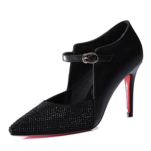 centenary-womens-enticing-pointed-mouth-artificial-leather-rhinestone-highheels