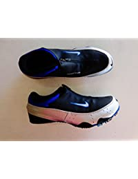 New Nike Zoom Rival S+ Spikes 304891 Mens 5.5 Black/Silver/Blue Track