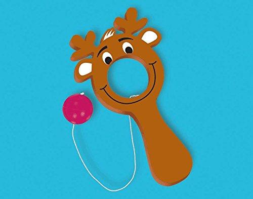 Amscan Christmas Reindeer Plastic Bulls-Eye Game
