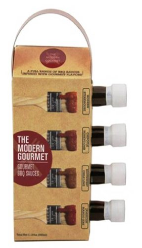 The Modern Gourmet Variety Pack, BBQ Sauce, 6.8 Total Ounce