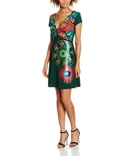 Desigual Vestido Ely Rep Verde