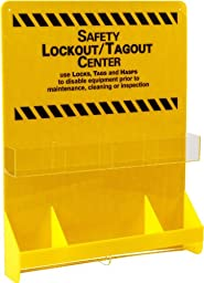 Brady LC501E Prinzing Large Yellow Lockout Board (1 Each)