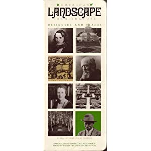 American Landscape Architecture: Designers and Places (Building watchers series) Willia H. Tishler
