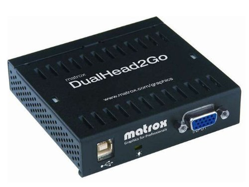 Matrox Dual Head 2 Go ROHS Compliant USB Powered D2G-A2A-IF (Dual Head 2 Go compare prices)