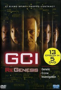 G.C.I. - Regenesis - Stagione 01 (5 Dvd) by peter outerbridge peter outerbridge conrad pla