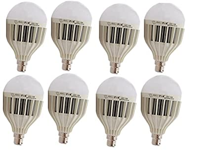 High Power 15W LED Bulb (Pack of 8)