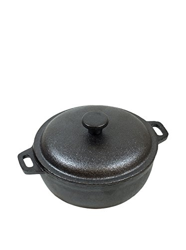 Old Mountain Pre Seasoned Cast Iron Mini Dutch Oven 2 cups Cookware 10180 (Cast Iron Small Dutch Oven compare prices)