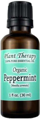 Organic Peppermint Essential Oil. 30 Ml (1 Oz). 100% Pure, Undiluted, Therapeutic Grade.