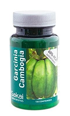 Garcinia Cambogia 100 Capsule 60% HCA by Leuka Natural