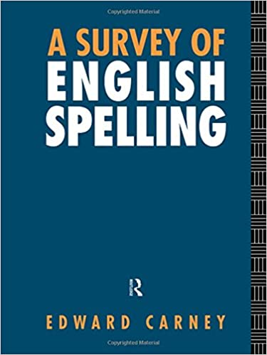 A Survey of English Spelling