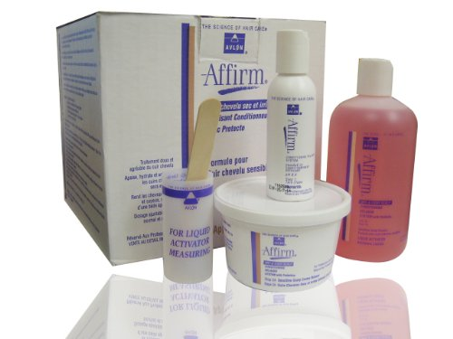 Avlon Affirm Dry & Itchy Scalp Conditioning Relaxer System with Protecto 9 Pack
