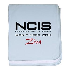 CafePress NCIS Don't Mess with Ziva baby blanket - Standard Petal Pink