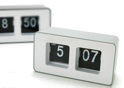 SavvyTronics Retro Auto Flip Clock - Assorted Colors