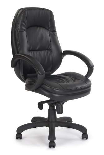 Eliza Tinsley High Back Black Leather Faced Executive Armchair
