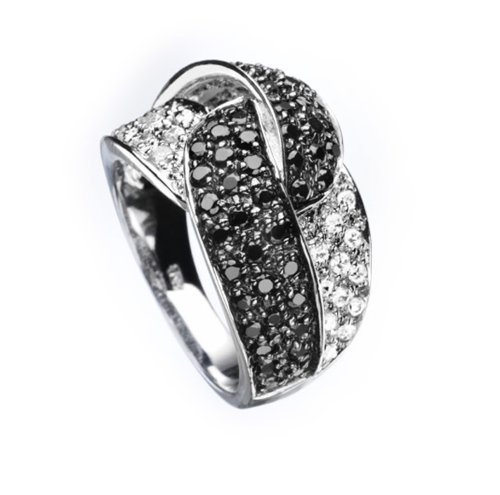 Celesta Damenring 925/- Sterling Silber Ringweite: 54 360270088L-054