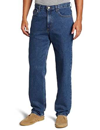 Savane Men's Relaxed Straight-Leg Five-Pocket Jean at