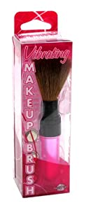 Pipedream Products Vibrating Make Up Brush, Pink