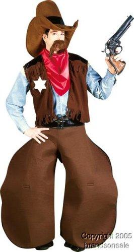Adult Men's Funny Cowboy Halloween Costume