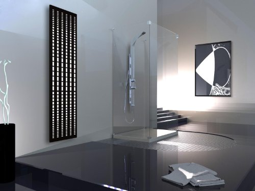Badheizkrper-Design-broken-Mirror-3-HxB-180-x-47-cm-1118-Watt-wei-schwarz-matt-Marke-Szagato-Made-in-Germany-moderner-Bad-und-Wohnraum-Heizkrper-Mittelanschluss