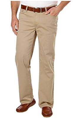 Calvin Klein Men's Straight Fit Sateen Pant
