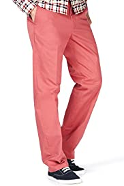 Flat Front Chinos Regular Fit with Stormwear+&#8482;